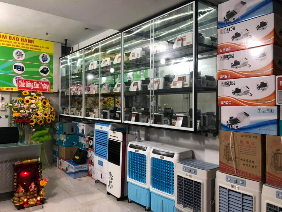 máy đếm tiền tại quận 1 TP HCM